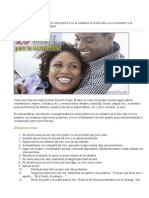 20 Factores Tóxicos y 20 Vitaminas Para Tu Matrimonio