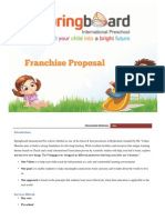 Franchisee Proposal.