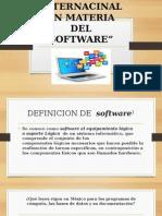 Regulacion Internacional en Materia Del Sofware