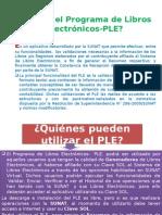 Qué Es El Programa de Libros Electrónicos-PLE