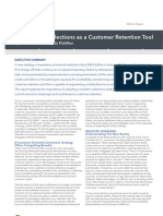 Leveraging Collections as a Customer Retention Tool