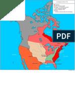 Amerique Du Nord 1776