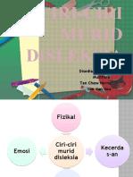 Ciri-Ciri Murid Disleksia