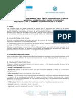 Reglamento Específico de TFM Para El Máster RDIA-UAL