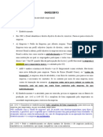Direito Empresarial II Resumo