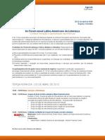 Agenda Portuguese