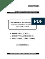 Administración Industrial Semestre V
