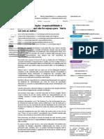 Comissão de Licitação - Responsabilidade e Juízo Crítico