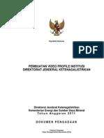 C Dokumen Lelang Profil Djk 2011