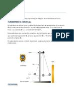 Informe de Física (Pendulo)