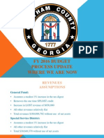 County Commission 2016 budget presentation