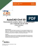 Civil 3d - Criar Perfis Transversais