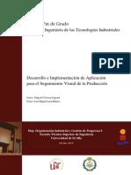 TFG GÓMEZ SEGURA MIGUEL Desarrollo e Implementación de Aplicación Para El Seguimiento Visual de l