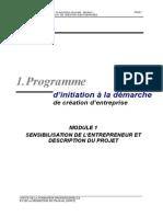 Module 1- Sensibilisation Entrep Descrip Projet