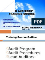 Lead Auditors Training Course