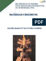 Aula 7 Materiais de Construção - Materiais Cerâmicos