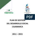 Paln de Gestion de Desarrollo Social