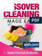Passover Cleaning Made Easy