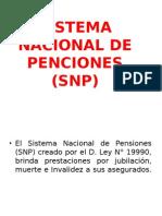 Sistema Nacional de Penciones