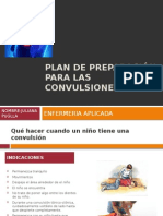 Plan de Preparación Para Las Convulsioness