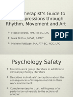 Safe Expression Through Rhythm Movement and Art - Play Therapist Guide to Safe Expression