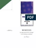Auerbach - Mimesis