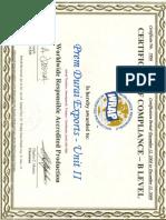 WRAP Zertifikat
