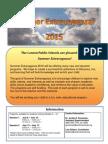 Summer Extravaganza Brochure 2015