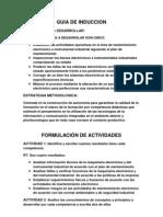 DESARROLLO DE INDUCCION