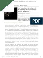 Cuadernos Del Cautiverio - Reseña _ Revista Observaciones Filosóficas