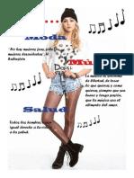 Revista de Moda, Musica y Salud