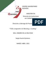 """ActividadVI Direccion de Procesos y Liderazgo """"""""metoring y coching"""