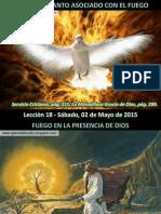 Lección 18 - El Espíritu Santo Asociado Con El Fuego