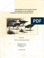 Bird use of agricultural fields at Lake Apopka, Florida (Pranty and Basili 1998)