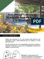 Conicas y Funciones en La UCV y Naturaleza