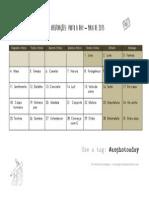 2015 - Calendário #Aophotoaday - Maio