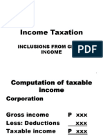 2015 Inclusions From Gross Income