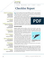 ABA Checklist Committee report, 2005