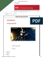 KALYAN SIR_ THE SOLAR SYSTEM.pdf