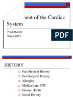 Assessment of the Cardiac System