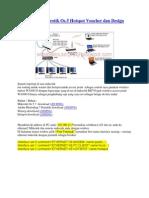 Cara Setting Mikrotik Os.5 Hotspot Voucher Dan Design Login Page-libre
