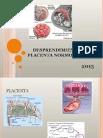 Desprendimiento de Placenta Normoinserta