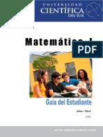 Guia de Matemática i