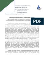 R E García_Mi Primera Experiencia en La Modalidad B-learning