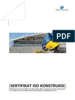 Sertifikasi ISO Konstruksi