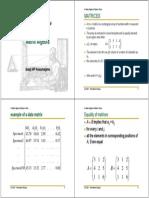 1314 01 09 Matrix Algebra&Marcov Chain