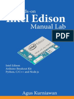 The Hands on Intel Edison Manual Lab