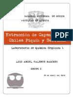 11 - Extracción de Capsaicina de Chiles Piquín y Serrano Proyecto