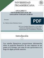 Analisis e Interpretacion de Estados Financiero Unilate Gfcp1