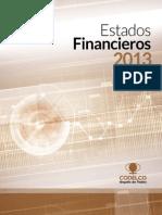 Estados Financieros Codelco 2013